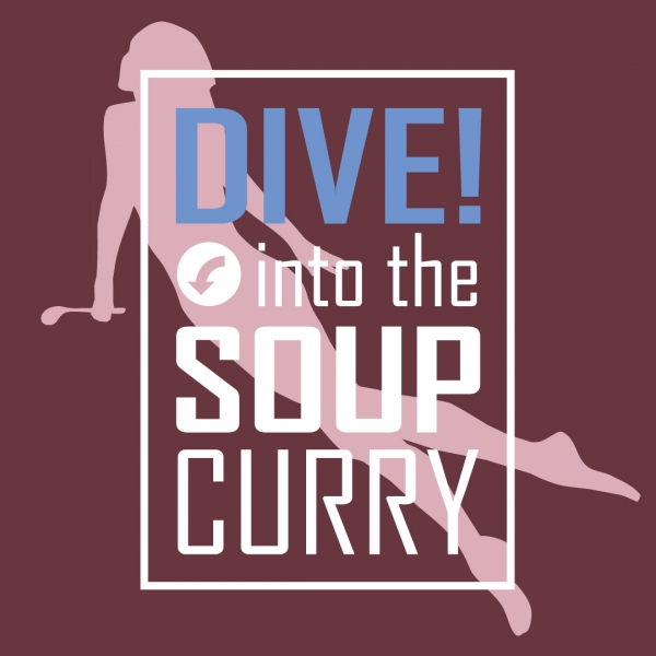 DIVE into the<br />SOUP CURRYTシャツ