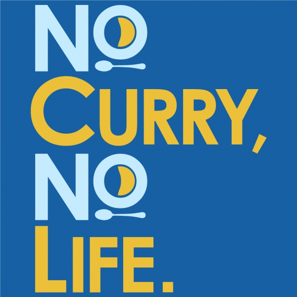 No curry' No life.Tシャツ
